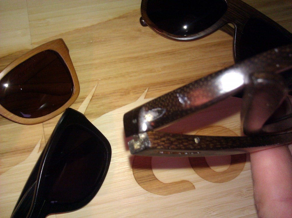 Gill of the Interchangeable and prescription lens frames of Corvus Fittings